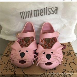 Mini Melissa bunny mary jane size 6